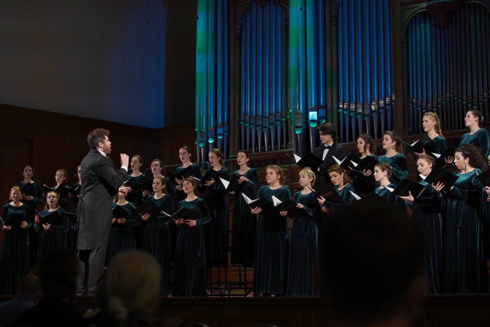 При поддержке РМС в Московской консерватории прошел концерт «Хормейстеры XXI века»